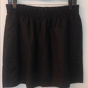 J. Crew Tan Wool Miniskirt - Size 8 (tan or black)